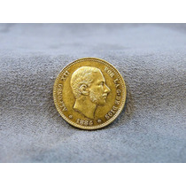 25 Pesetas De Oro Puro Moneda Centenario Goldmex