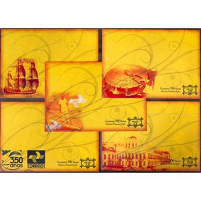 V-8003 - Cartao Postal Correios 350 Anos