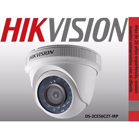 Camara Hd Hikvision 720p Ir Ds2ce56c2tirp Plastica Exterior
