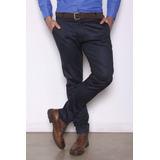 Pantalon Hombre Corte Chino Gabardina Elastizados Importados