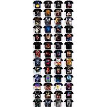 4 (quatro) Camisetas3d Og Abel Swag Thug Life Disney Caveira