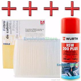 Spray Wurth + Filtro Ar Condicionado Gol G5 Voyage Polo Fox