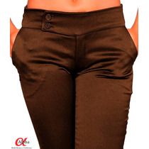 Calça Social Feminina C/ Elastano - Várias Cores Ganhe 15%