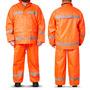 Equipo De Lluvia Pilot Reflectivo Naranja M,l,xl,xxl,xxxl