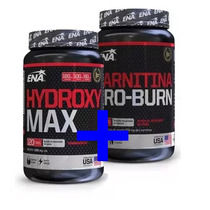 Ena Carnitina Pro Burn X60 + Hydroxy Max X120 Fcia Hudson