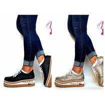 Botas Mujer Botitas Botinetas Zapatillas Plataforma Goma