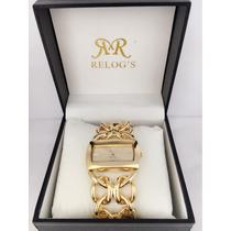 Relógios Femininos Dourado Luxo Pronta Entrega Frete Grátis