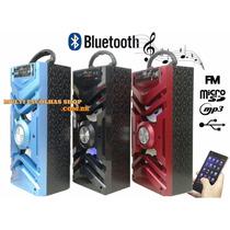 Caixa De Som Torre Bluetooth Fm Tf Card Usb Mp3