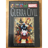 Hq Guerra Civil Coleção Marvel Graphic Novels Nº 50 Salvat