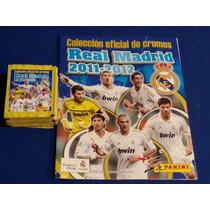 Album Real Madrid Oficial 2011-2012 Panini Con 46 Sobres