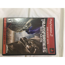 Transformers: The Game Original Completo - Playstation 2 Ps2