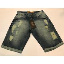Bermuda Jeans Masculino Da John John Pronta Entrega