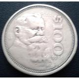 Moneda De 100 Pesos Venustiano Carranza