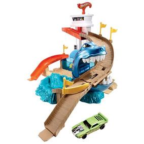 Pista Hot Wheels Mattel Ataque Tubarão - Bgk04