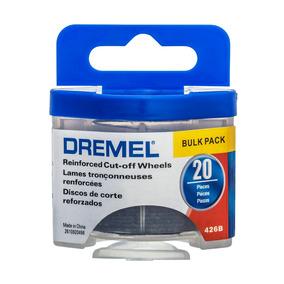 Dremel Disco 426b Cortar Fibra De Vidrio 1-1/4 In 20 Piezas