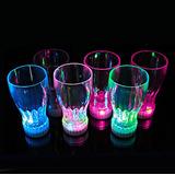 Vasos Luminosos Discotequero, Rumbero De Plastico Acrilico