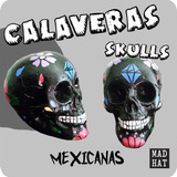 Calaca Dia De Los Muertos / Calavera Mexicana Yeso / Craneo