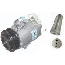 Compressor Meriva Delphi + Filtro Secador 1.4/1.8 5pk