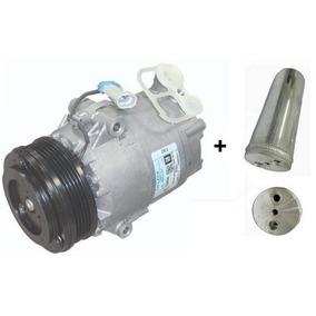 Compressor Meriva + Filtro Secador 1.4/1.8 5pk Frete Gratis