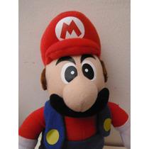 Peluche Super Mario Bros By Nintendo Toy Juguete Videogame
