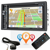 Stereo Doble Din Power Acustic Pdn626b Gps Bluetooth Tv