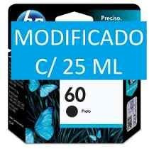 Cartucho Hp 60 Xl C/ 25 Ml - F4280 F4480 D110a D2560 C4780