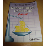 Livro - Contabilidade Comercial Fácil - Osni Moura Ribeiro