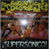 Autenticos Decadentes Los Supersonico Lp Vinilo Nuevo