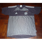 Original Camiseta adidas Seleccion Alemania 2004 Gris Tall S