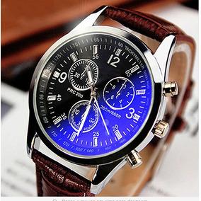 Relógio Unisex Caixa De Aço Inoxidável Analógico Quartzo 4