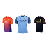 Nueva Camiseta Del Manchester City 2017 Nike Original!!!