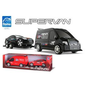 Carro Supervan Tuning Car 1635 - Roma Brinquedos