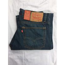 Jeans Pantalon Levis 513 Dirty Green Moderno