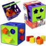 Cubo Didactico Con Formas Divertidas Playskool Ref: 00322