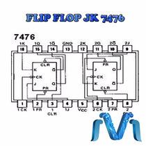 Circuito Integrado 7476 Flip Flop Jk 74ls76p