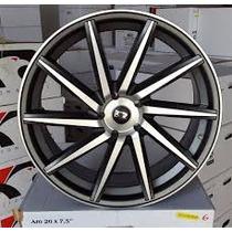 Jg Roda Aro 17 Vossen Cvt 4/5 Furos Civic Vectra+pneus+porca