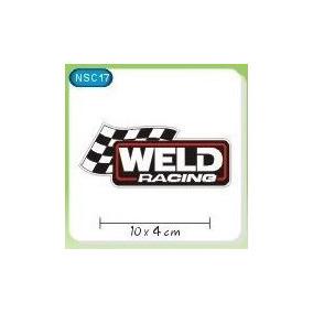 Adesivo Decorativo Preparação Carro Tunning Weld 3 Adesivos