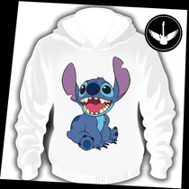 Moletom Stitch Lilo Desenho Geek Nerd Canguru Casaco Capuz