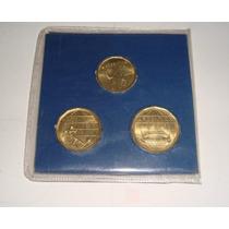 Blister Con 3 Monedas Mundial 78 Sin Circular