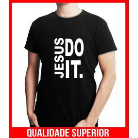 Camisetas Evangelicas Moda Gospel Frases Jesus Do It.