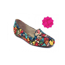 Sapato Sapatilha Feminina Estampa Romero Estilizada