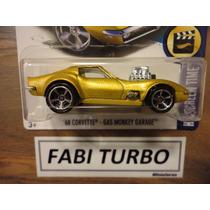 Hot Wheels 2017 - 68 Corvette - Gas Monkey Garage - Raro