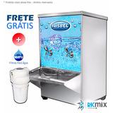 Bebedor Agua 20 Litros Gelado Modelo Indust. Inox C Filtro