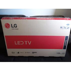 Tv Led 43´´ Lg Full Hd Usb Hdmi Conversor De Tv Digital
