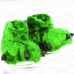 Pantuflas Garras Mujer Niñas Modelo Kids 2 De Shoes Bayres