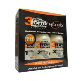 Escova Gradativa 3form Progress Hair Fly 300ml - Rmcfarma