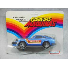 Brinquedo Antigo, Carro Puma Da Glasslite Lacrado.