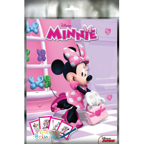 Livro Disney - Kit Pinte E Brinque - Minnie