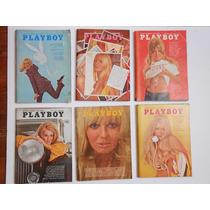 Lote De Revistas Vintage Playboy De Los 60´s