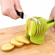 Pinzas Rebanadoras De Fruta O Verduras Color Verde H3238